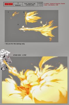 Flash FX Animation: FX Designs from 'Iron Man' The Animated Series by Guillaume…