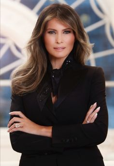 Officially...Archangel641's Blog: Finally, White House releases Melania Trump's offi...
