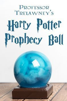 "A quick and easy craft project inspired by Professor Trelawney's prophecy, from ""Harry Potter and the Order of the Phoenix"""