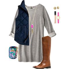 NEED! Dress!! Sweatshirt Dress that could be belted, worn with tights, converse or boots!