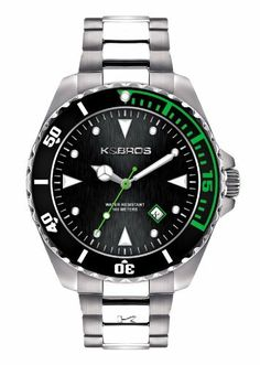 K Men's 9472-1 Steel Casual Watch K $44.99. Case diameter: 42 mm. Protective mineral crystal. Water-resistant to 165 feet (50 M). Stainless-steel case. Precise Quartz movement