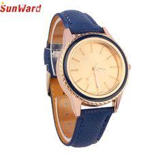 SUNWARD Women watch Alarm clock wrist watch Faux Leather Analog Quartz-watch Wrist Watch best selling DE28 #CLICK! #clothing, #shoes, #jewelry, #women, #men, #hats, #watches