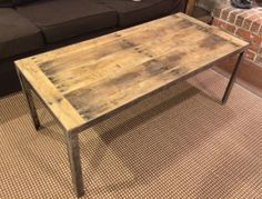 Pallet Coffee Table... Love this look!!