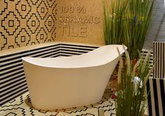 Bañera exenta de diseño