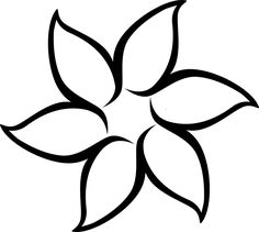 Flower drawing simple easy flowers to draw simple flower drawing easy simple easy flowers to draw . Simple Flower Drawing, Simple Flowers, Simple Flower Design, Flower Shape, Flower Patterns, Beading Patterns, Embroidery Patterns, Flower Designs, Outline Drawings