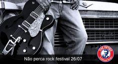 NÃO PERCA ROCK FESTIVAL NO THE FIFTIES! ;)