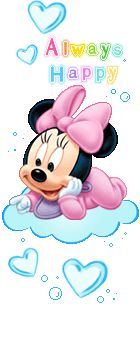 Glitter Graphics: the community for graphics enthusiasts! Wallpaper Do Mickey Mouse, Disney Wallpaper, Minnie Mouse Baby Shower, Minnie Mouse Cake, Minnie Mouse Drawing, Baby Disney Characters, Mickey E Minie, Mickey Mouse Photos, Happy Birthday Flower