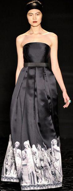 Pamella Roland Fall 2013 Ready-to-Wear ♥✤