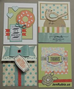 Jen's Jewel Box (CTMH with Jen Rubio): August Card Class! (Free with Cricut Artistry purchase!!)
