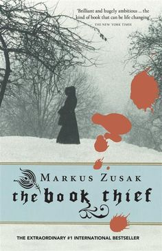 The Book Thief by Markus Zusack. One of my favourites for too many reasons to list. Story is about Liesel Meminger during the time of Nazi Germany, who is fostered by an older couple outside Munich. The book is narrated by 'death'.  The writing style captures you from the beginning. A beautiful book.