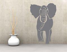 muursticker muurtattoo SF417 Jumbo olifant