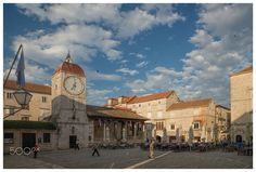 Trogir Town Square at 7 a.m. by Eric Bjerke, Sr. on 500px