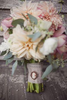#peach #pink #ivory #mint #green #wedding #bouquet #coral #orange