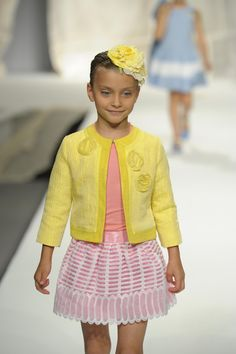 Girls outfitted in velvet, brocade, lace, silk and tulle was Cavalleri's Return to Children's Fashion! See pictures from the fashion show: http://naturalchildworld.com/velvet-lace-and-tulle-cavalleris-return-to-childrens-fashion