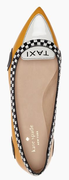 kate spade ♠ cute taxi flats http://rstyle.me/n/sqawnpdpe