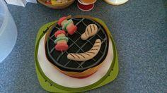 Grilltorte Birthday Cake, Desserts, Food, Crickets, Homemade, Pies, Birthday Cakes, Meal, Deserts