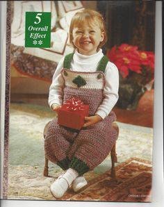 Crochet Pattern Baby Infant Complete by NanasVintagePatterns  $3.00