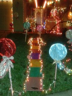 Outside of house decorated like a Gingerbread house | December | Pinterest  | Christmas, Christmas ideas and Christmas crafts
