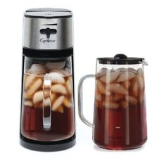 Tea Makers 101424: Capresso Stainless Steel Iced Tea Maker With Extra Tea Pitcher Buy New -> BUY IT NOW ONLY: $93.85 on eBay!