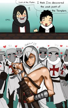 """Templars weak point"" by Hikari-15-L on DeviantArt.com."
