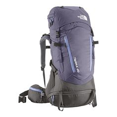 The North Face Terra 40 Backpack Womens Eventide BlueLavendula Purple ML *** Continue to the product at the image link.