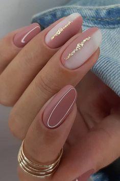 Chic Nails, Stylish Nails, Milky Nails, Nagel Bling, Cute Nail Art Designs, Orange Nail Designs, Popular Nail Designs, Nagellack Design, Classic Nails