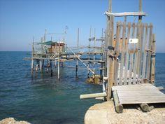 """""""Trabocco"""", Punta Vallevò, Rocca San Giovanni (Abruzzo, Italy) - by Silvana, agosto 2011"""