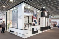 OBA Perdesan - Heimtextil 2012 Frankfurt / GERMANY on Behance Exhibition Stall Design, Exhibition Booth, Exhibit Design, Exhibition Stands, Stand Design, Booth Design, Frankfurt Germany, Creative Design, Minimalism