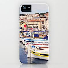 #Society6                 #iPhone Case              #Boats #Cassis #Harbor #iPhone #Case #Around #Island #(Robin #Epstein) #Society6                        Boats in Cassis Harbor iPhone Case by Around the Island (Robin Epstein) | Society6                                                http://www.seapai.com/product.aspx?PID=1634891