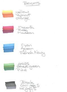 Promarker colour brights