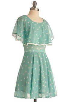 Ethereal Elegance Dress // ModCloth // Not Blunder Blue, but Oh-So Cute!