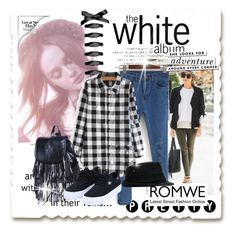 """""""Romwe IV (4)"""" by albinnaflower ❤ liked on Polyvore featuring Kate Spade and romwe"""