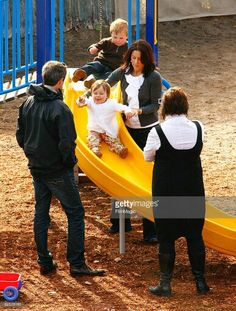 Mary and Frederik with Christian and Isabella in Australia
