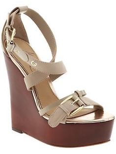 Mark & James by Badgley Mischka Nera platform sandals. I want these for Spring!
