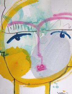 Sally King Benedict Face Print