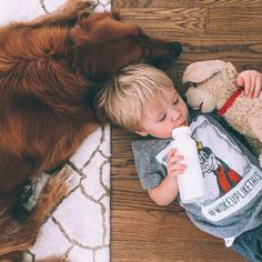 have a dog and a baby at thee same time so they can be best buddies