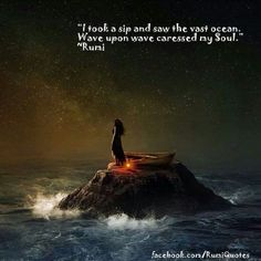 Explore inspirational, powerful and rare Rumi quotes and sayings. Here are the 100 greatest Rumi quotations on love, life, struggle and transformation. Rumi Love Quotes, Poetry Quotes, Inspirational Quotes, Wave Quotes, Motivational, Powerful Quotes, Wisdom Quotes, Kahlil Gibran, Rumi Poem