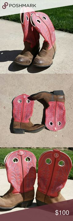 64acd88bf5df Tony Lama Pink Cowgirl Boots Pre-owned Tony Lama pink cowgirl boots kids  size 2