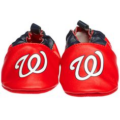 These would have been perfect for Sophie! Washington Nationals Infant Crib Shoe