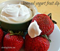 Healthy Honeyed Yogurt Fruit Dip