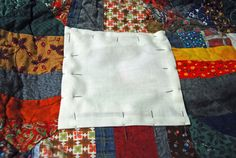 Great tutorial for quilt repair! (Hope to never need it...)