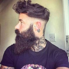 22 Cool Beards And Hairstyles For Men http://www.menshairstyletrends.com/22-cool-beards-and-hairstyles-for-men/