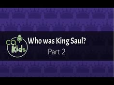 Find out about King Saul's willful sins. Watch Now! Bible Videos For Kids, Kings Of Israel, Kids Part, One Kings, Watch, Learning, Youtube, Clock, Bracelet Watch