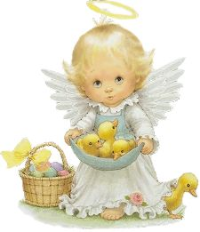 Vintage Angel Clip Art Free | Free Easter Clipart