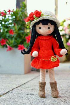 Watch This Video Incredible Crochet a Bear Ideas. Cutest Crochet a Bear Ideas. Crochet Dolls Free Patterns, Crochet Doll Pattern, Amigurumi Patterns, Amigurumi Doll, Doll Patterns, Crochet For Boys, Cute Crochet, Crochet Crafts, Crochet Toys