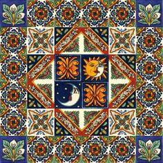 Płytki Meksykańskie - Galeria projektów Bunt, Planer, Quilts, Php, Scrappy Quilts, Tiles, Diy Bathroom Tiling, Tiling, Mexico