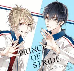 Prince of Stride: Alternative || Yagami Riku and Fujiwara Takeru