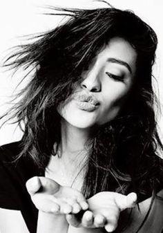 KISSES Shay Mitchell, Tumblr, Beautiful People, Long Hair Styles, Amazing, Beauty, Women, Pll, City Lights