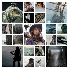 """Asha Greyjoy"" by andreza239 ❤ liked on Polyvore featuring art"