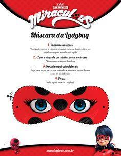 [Máscaras] Ladybug - Miraculous - Programas - MUNDO GLOOB